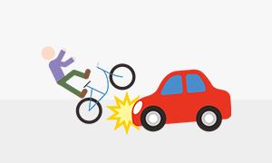 友人が運転する車に同乗して事故に遭ってしまった